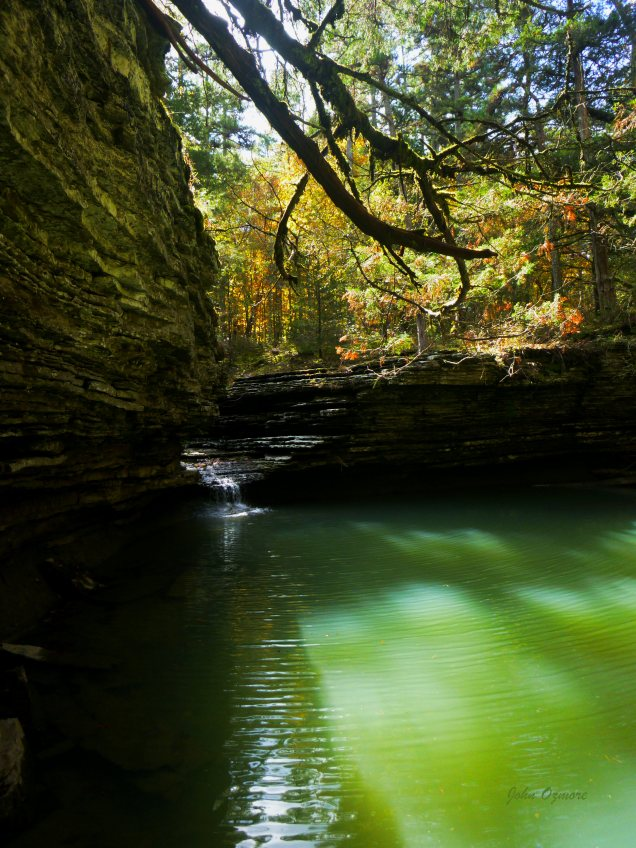 Hobo Falls on Cedar Creek OHT