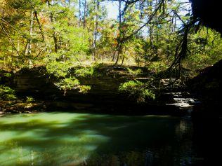 Hobo Falls sunlight on OHT