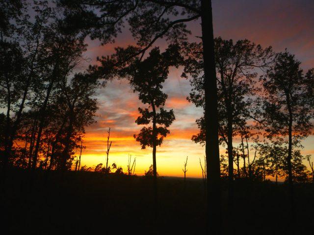 Fairview sunset on OHT