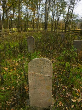 Old Cemetary on OHT