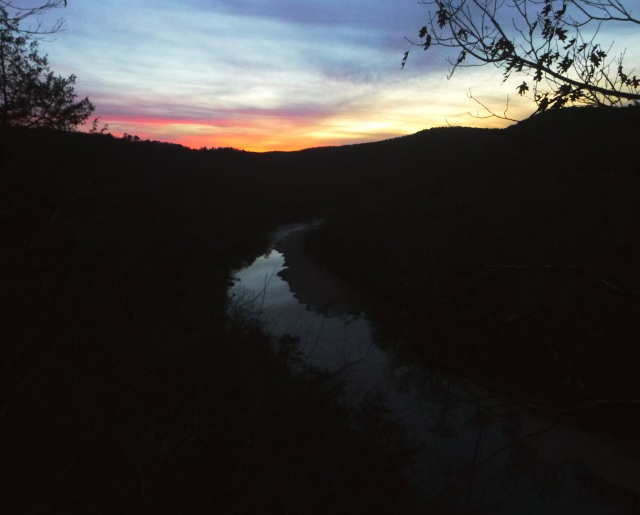 Sunset on Night hike