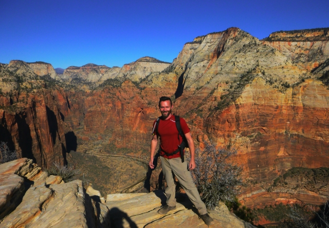 Angels Landing Summit Photo