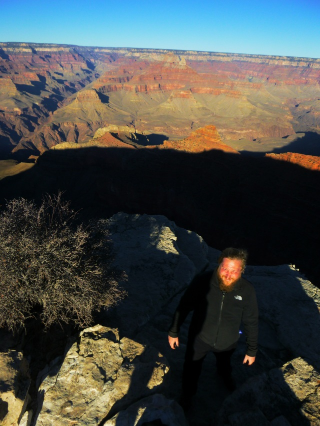 Daniel at Grand Canyon