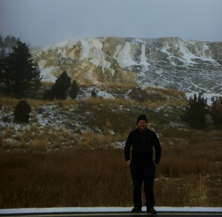 Daniel at Mammoth Springs Road