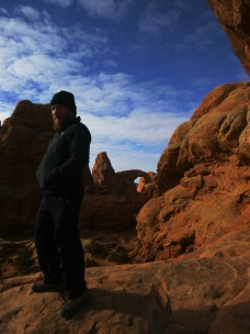 Daniel by Arches National Park