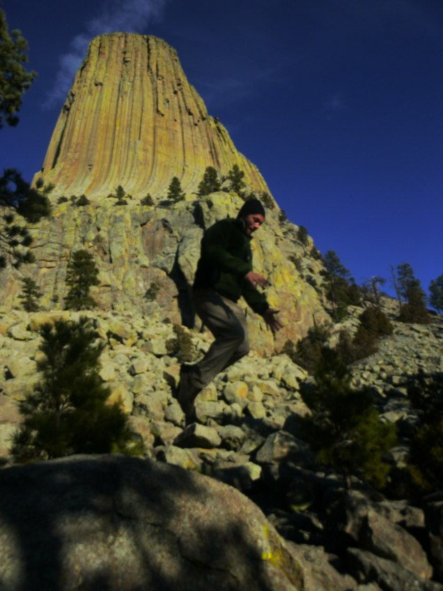 Devils Tower Levitation