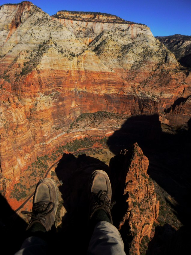 From the Angels Landing