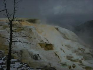 Mammoth Springs up Close