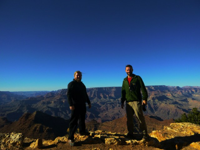 Me and Daniel at Grand Canyon
