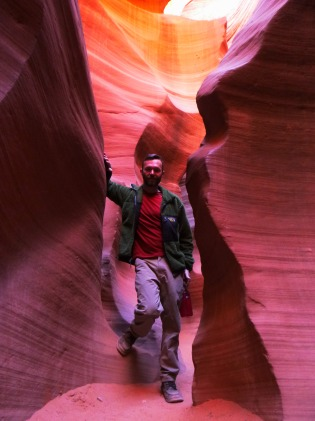 Me at Lower Antelope Canyon
