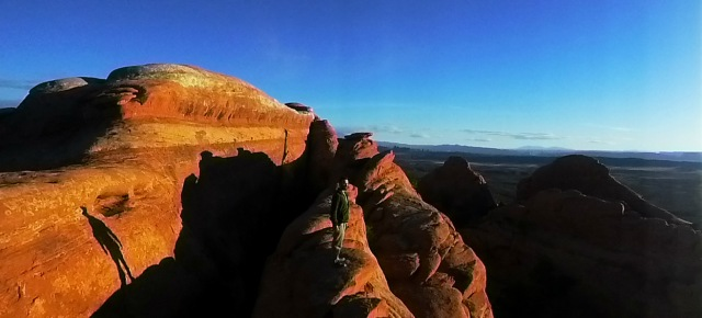 Panoramic over Navajo Arch