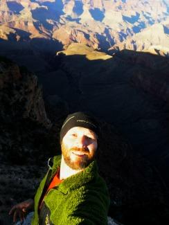 Selfie at Grand Canyon