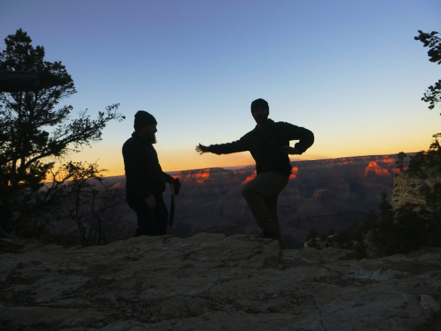 Timed at Grand Canyon