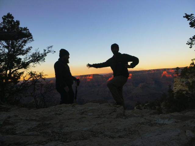Timed at Grand Canyon