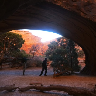Timed at Navajo Arch